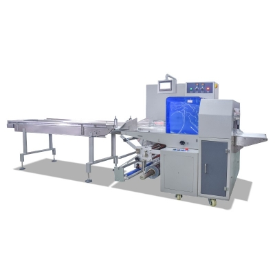 Flow vegetable Packaging Machine